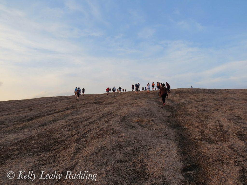 enchanted rock, hiking
