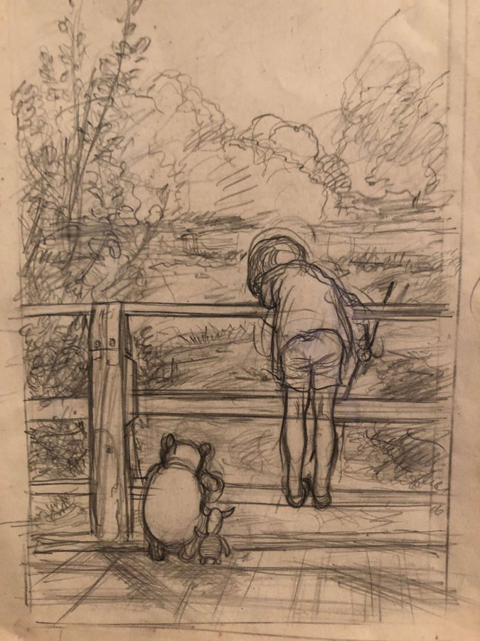Winnie-the-Pooh, Christopher Robin,